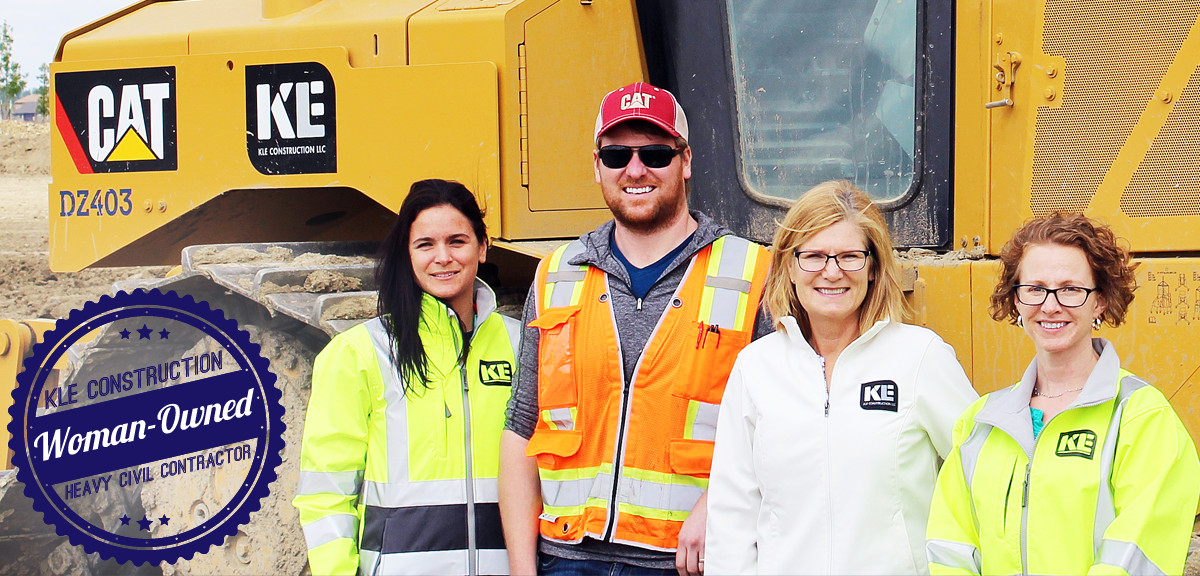 KLE Construction – Woman-Owned Heavy Civil Contractor