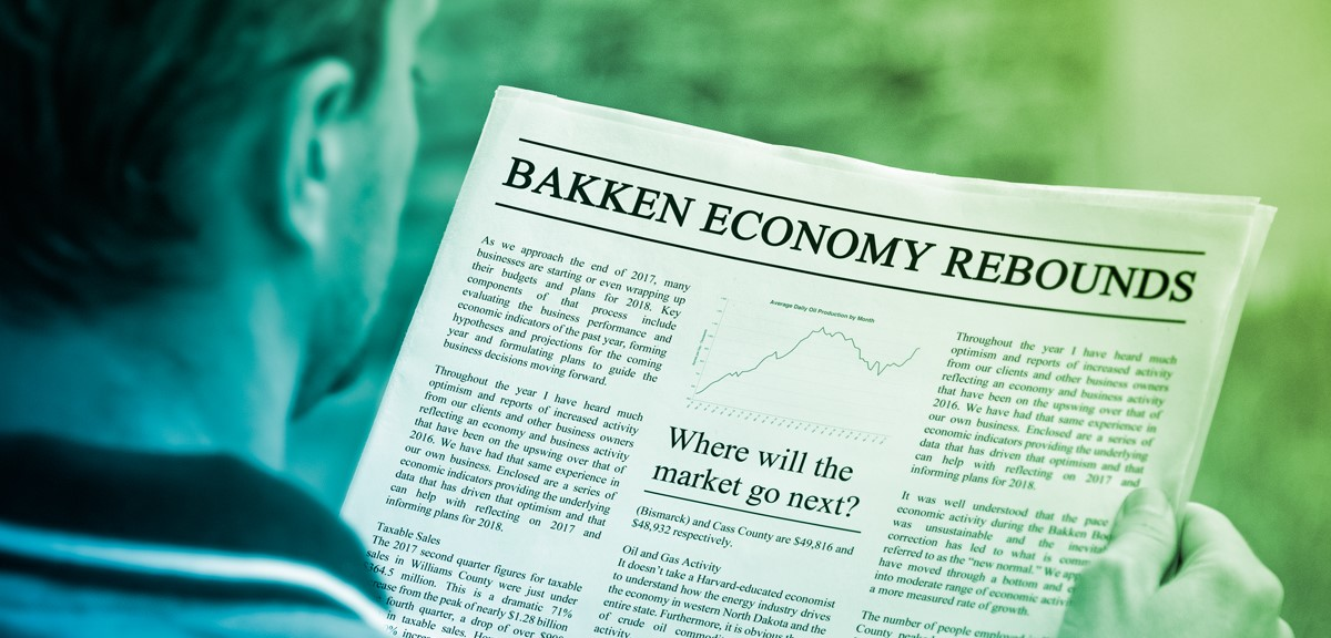 Oil Retakes Top Spot in State GDP as Bakken Economy Rebounds