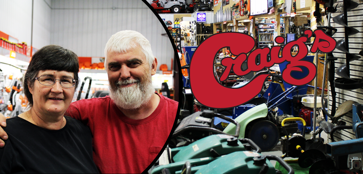 Craig's Small Engine Repair – 30 Years Working in God-Given Talent