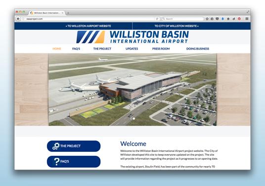 Williston Basin International Airport Project
