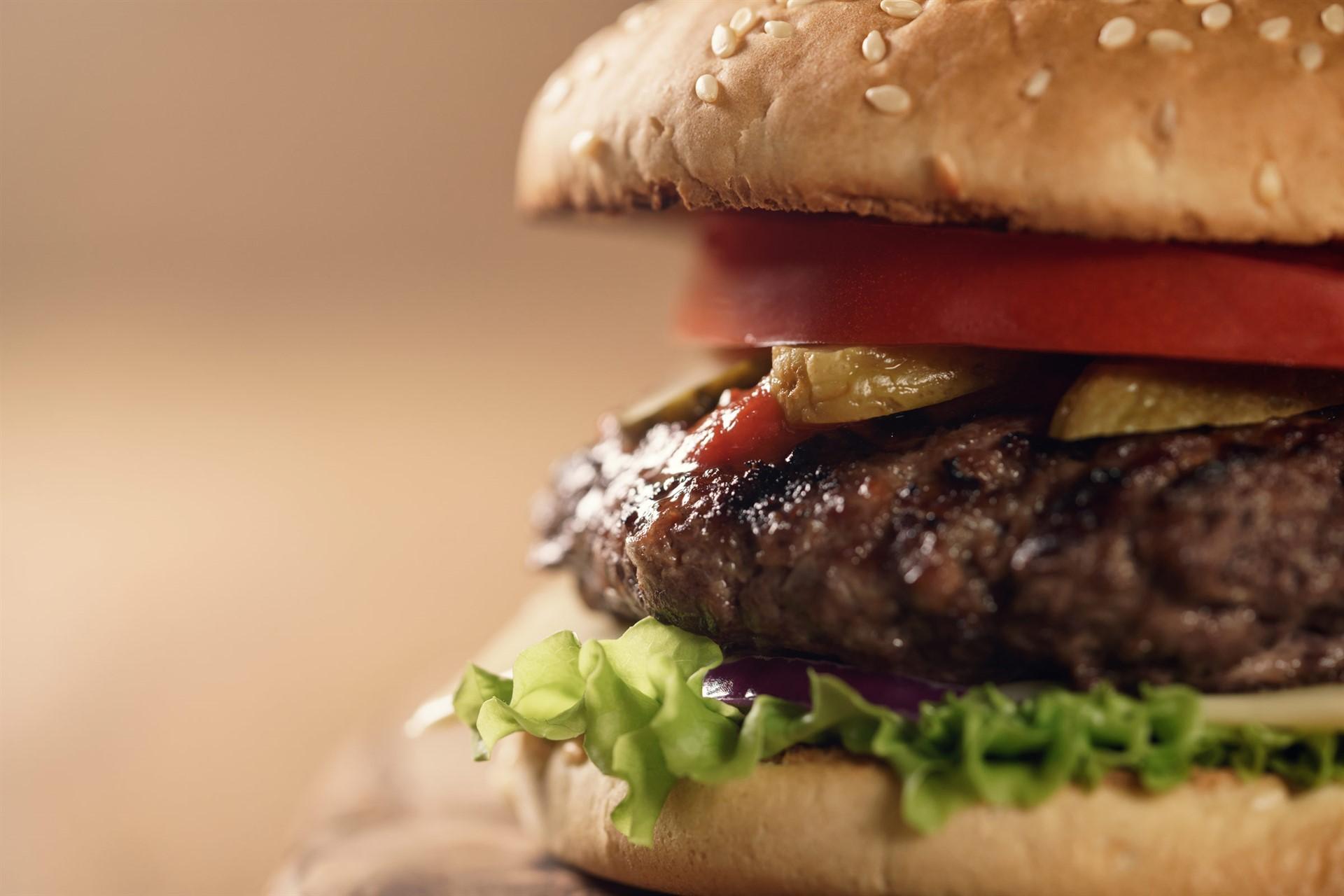 Keep calm, it's burger night.