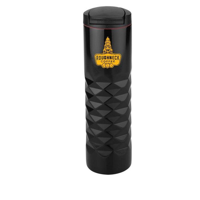 Thermos - 16 oz., Black, RC Yellow Logo
