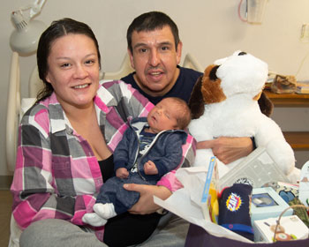 Sidney Health Center welcomes first baby of 2019