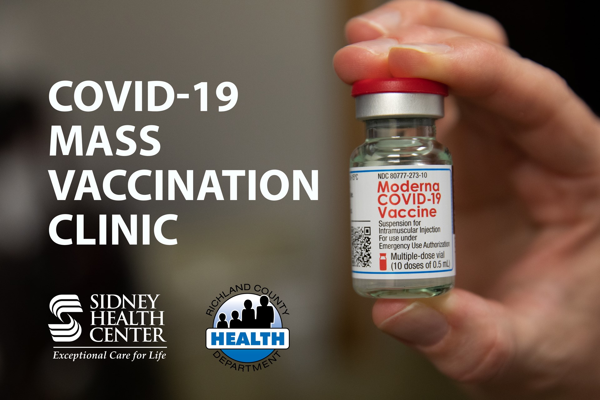 Sidney Health Center partners with Health Department to offer mass COVID-19 vaccination clinic