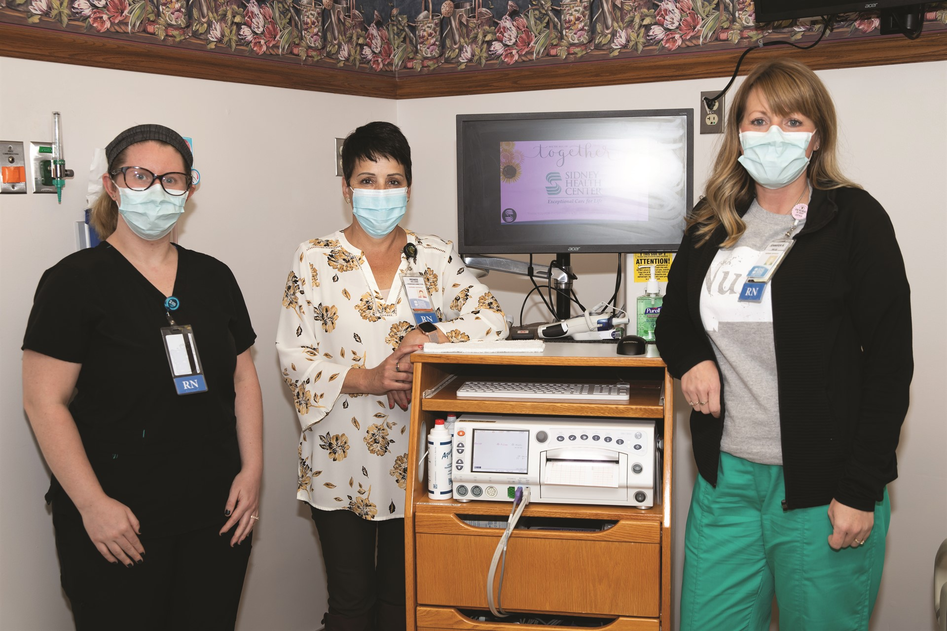 Volunteers purchase equipment for Obstetrics Department