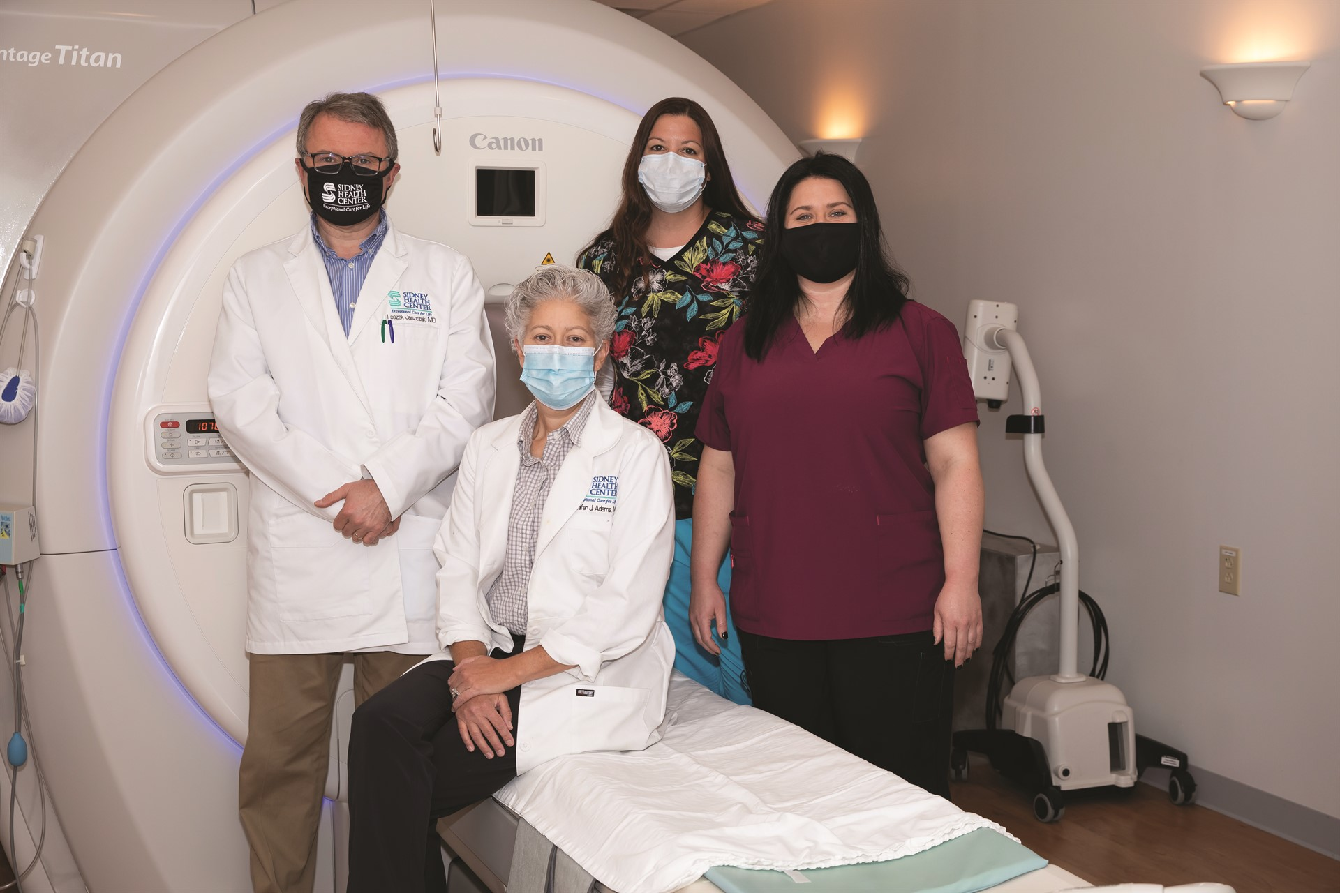 MRI Breast Coil available at Sidney Health Center
