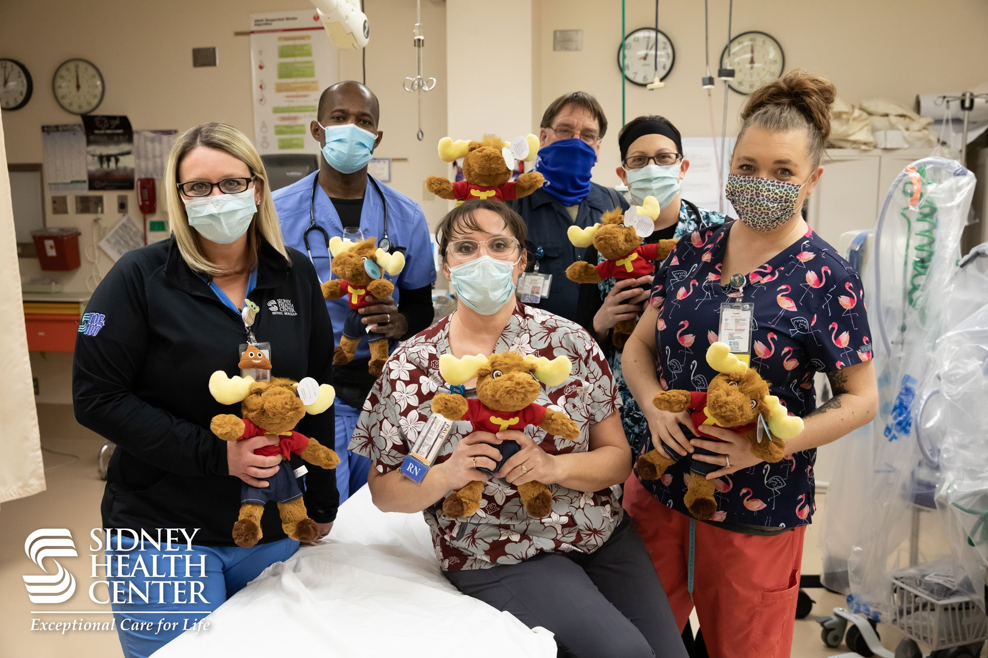 Moose Lodge donates toys to Emergency Department