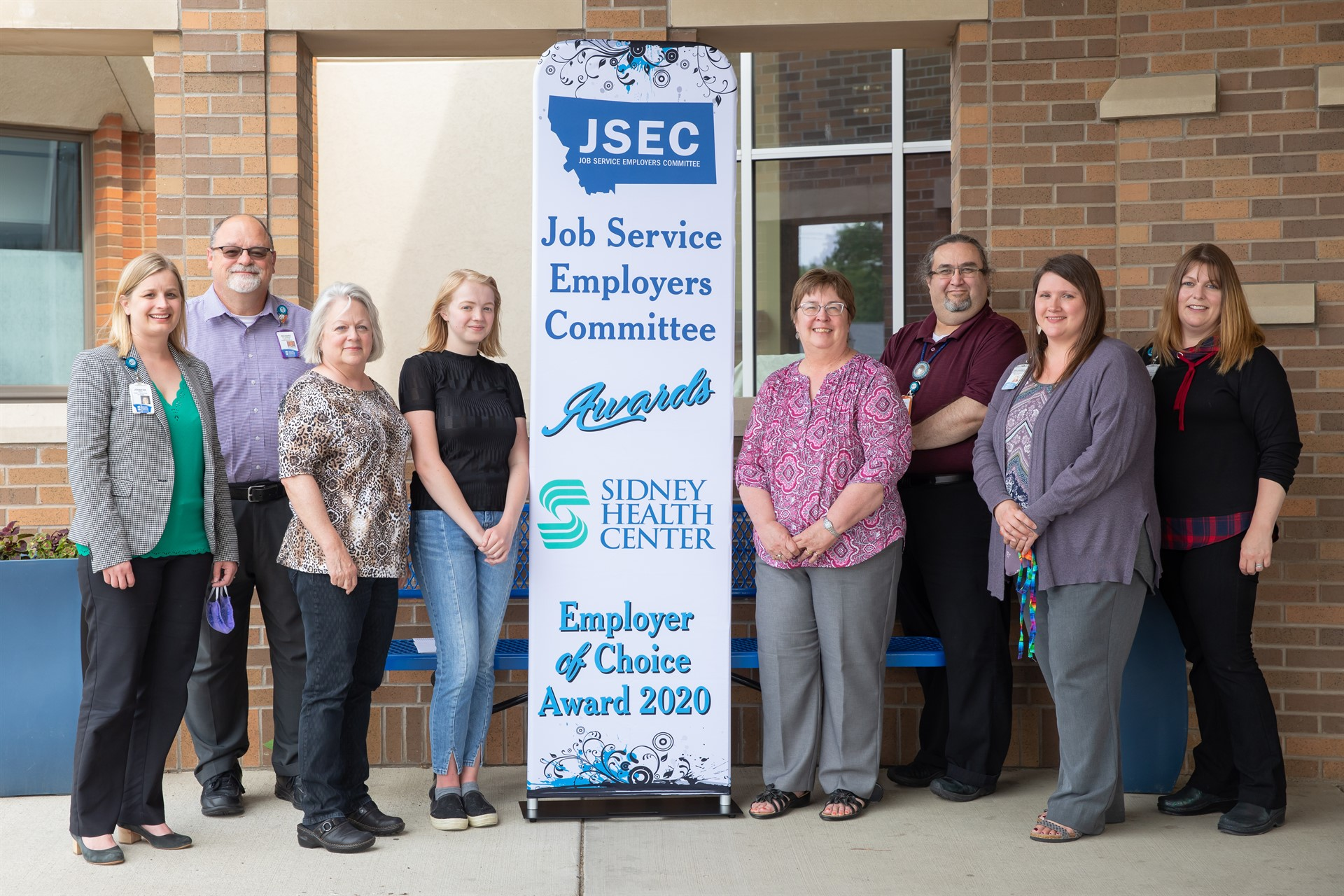 Sidney Health Center Awarded JSEC 2020 Employer of Choice Award