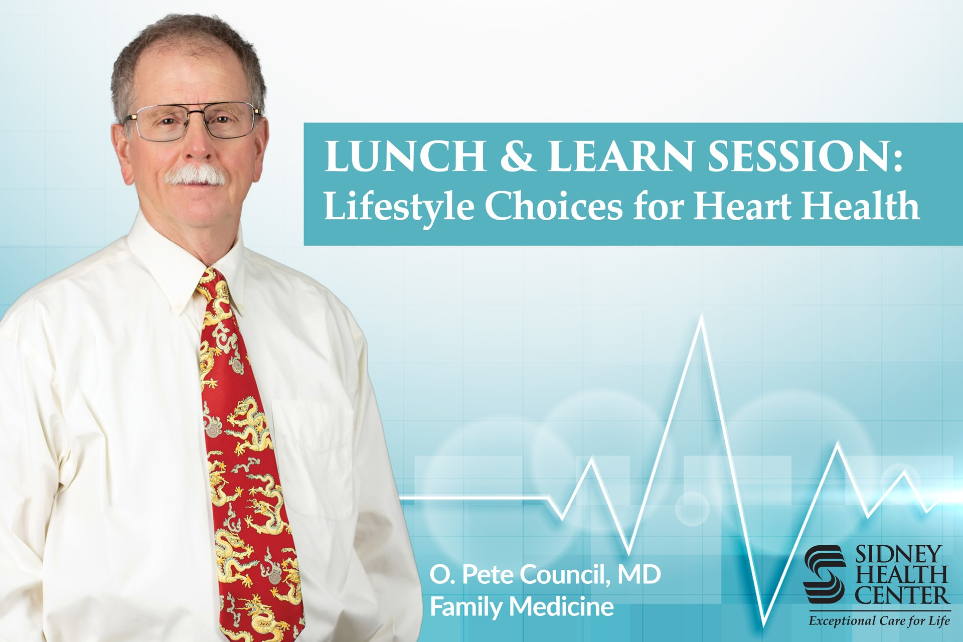 Lunch & Learn Session: Lifestyle Choices for Heart Health