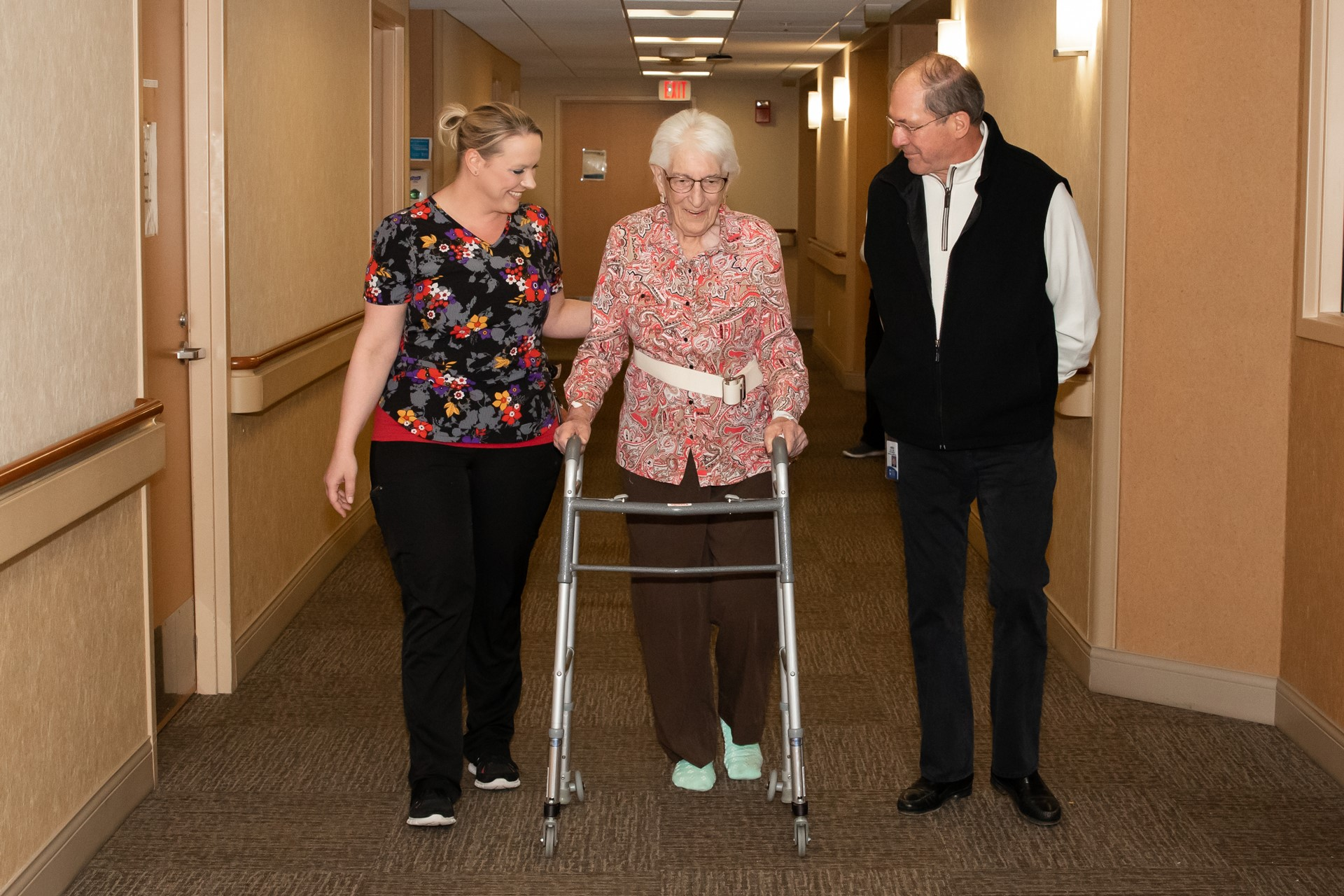 Getting a new knee at 93 years young