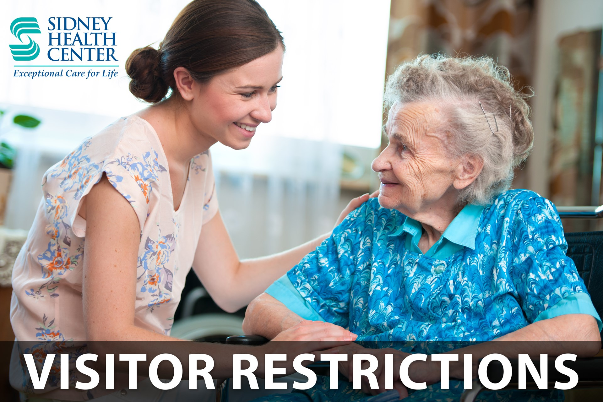 Extended Care and The Lodge Visitation Restrictions