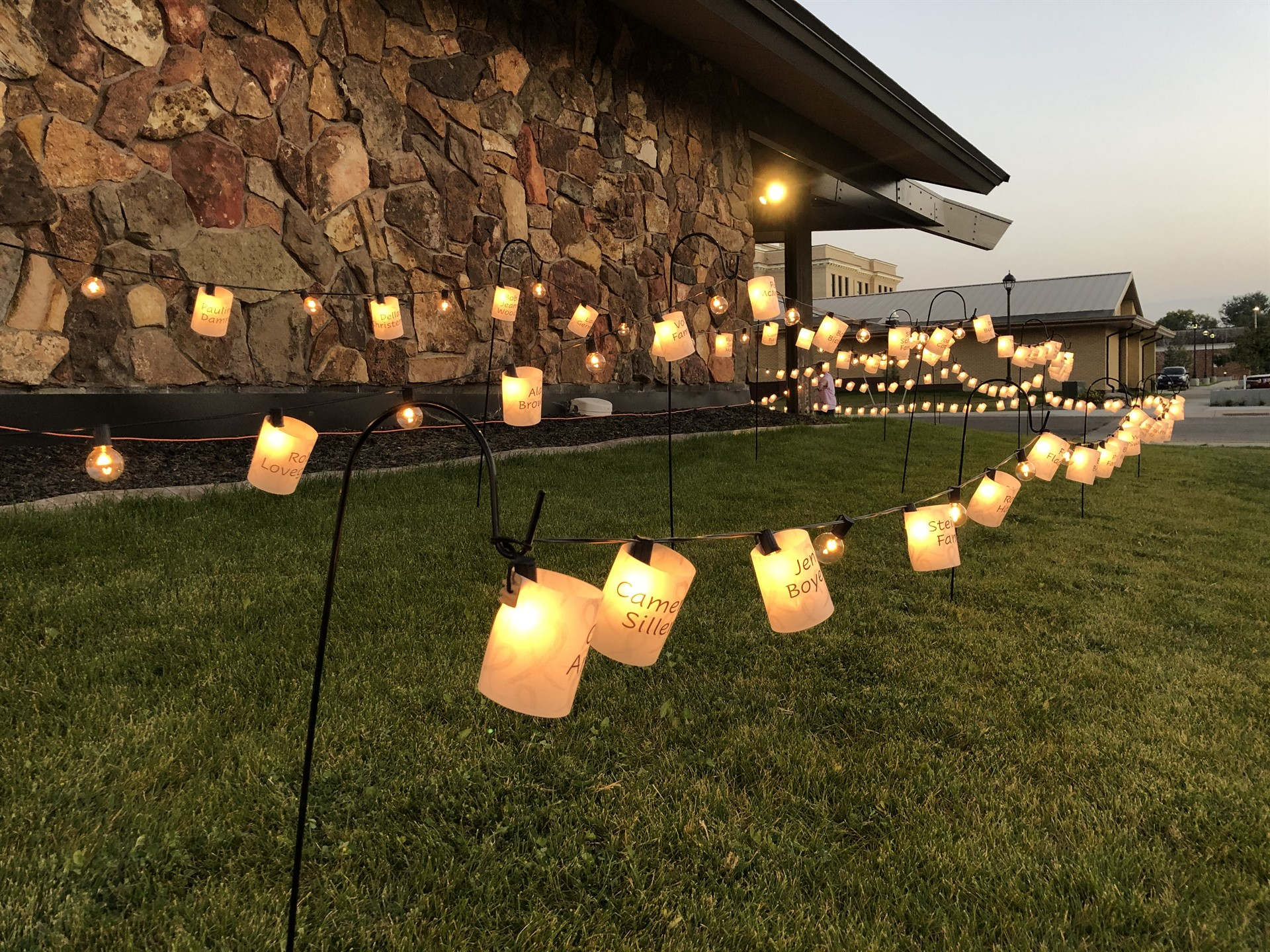 Light the Night in honor of area cancer patients