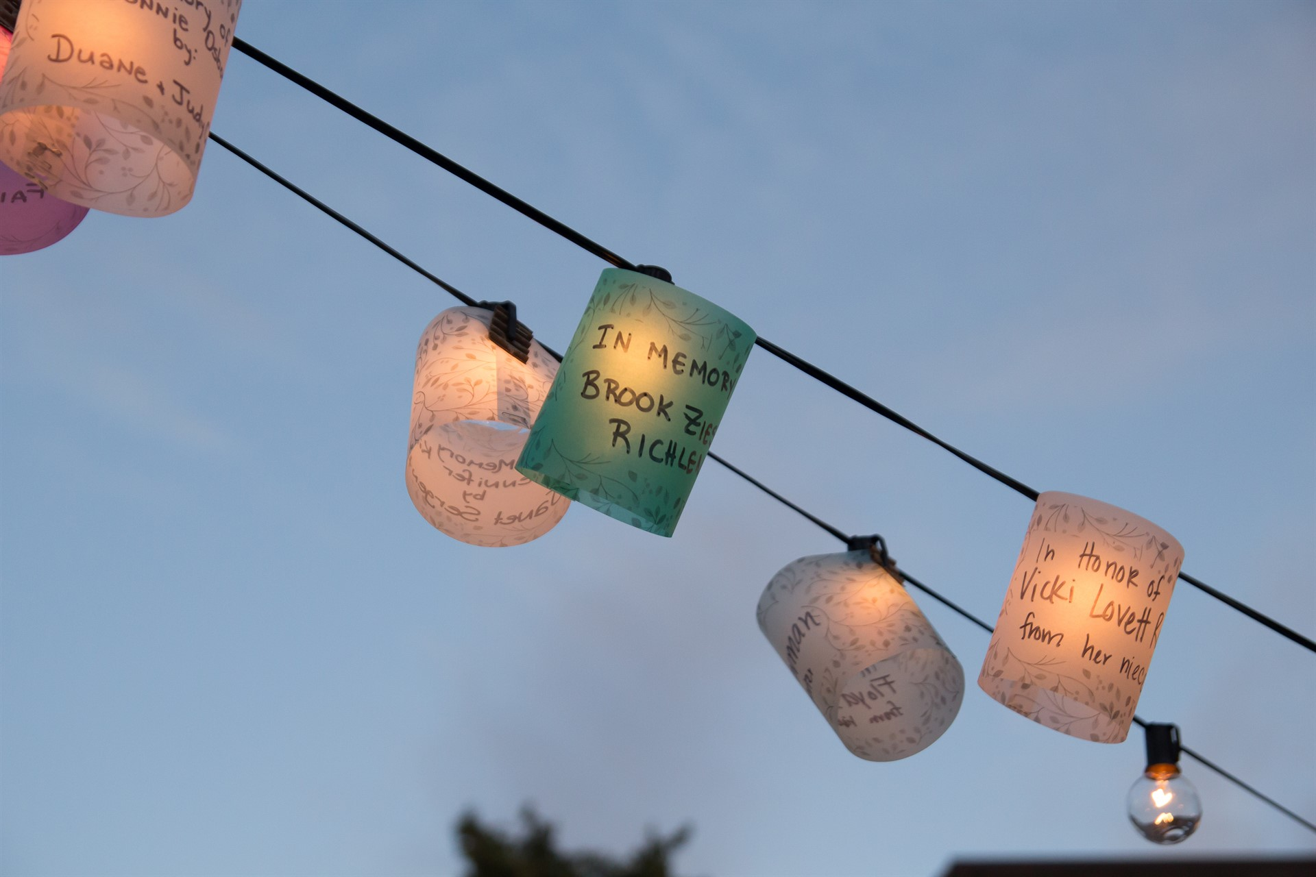 Light the Night for area cancer patients
