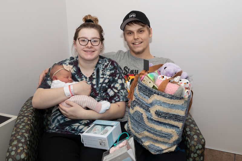Sidney Health Center welcomes first baby of 2021