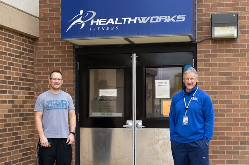 35 years later – HealthWorks makes a splash