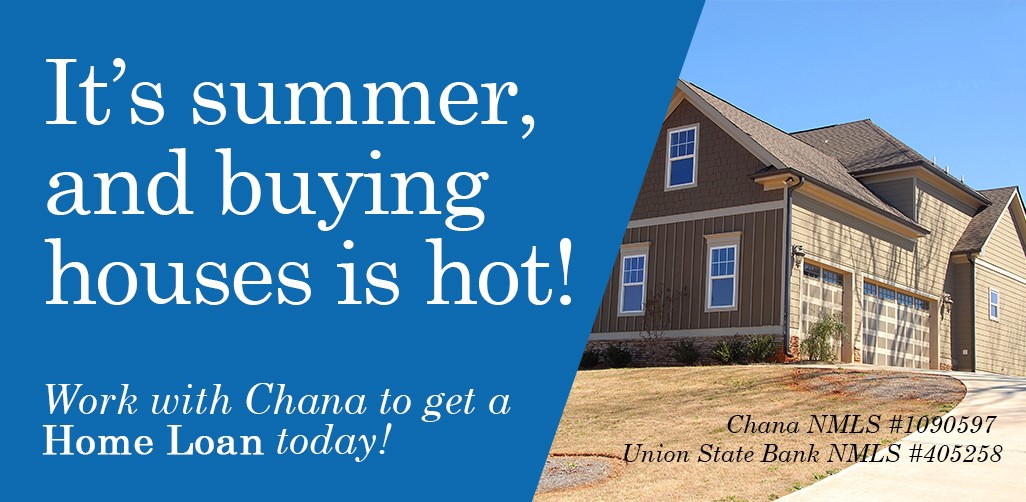 It's Summer, and buying houses is hot!