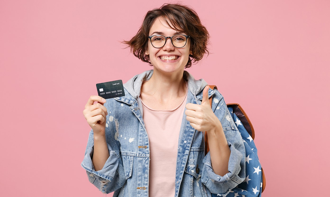 Get started with a Visa College Real Rewards Card
