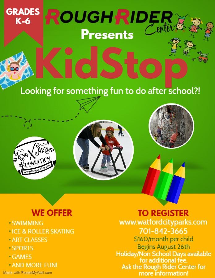 Rough Rider Center KidStop