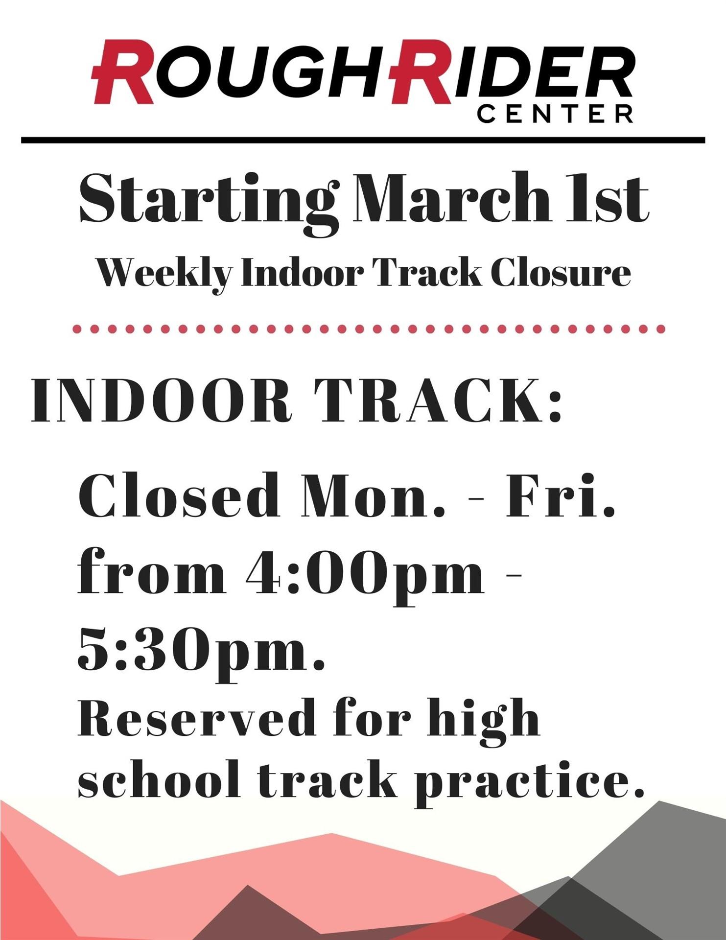 Weekly Track Closure